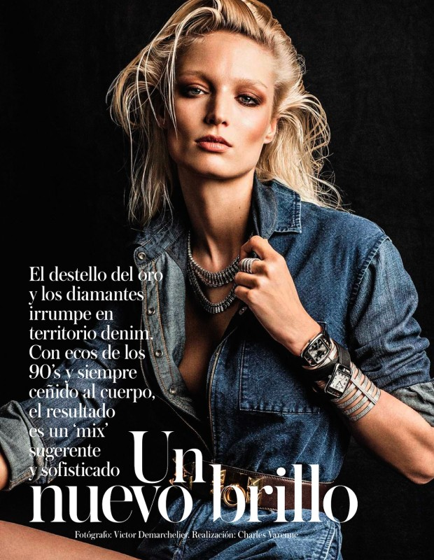 Vogue Spain Victor Demarchelier Georgina Graham