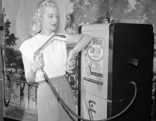 1945 Tanning Machine Georgina Graham
