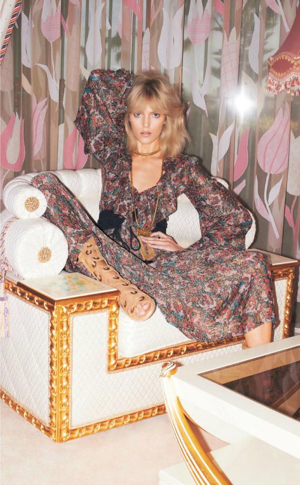 Vogue Japan Katja Rahwles Sissy Vian Anja Rubik Georgina Graham Luke Hersheson