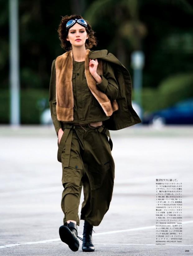 Vogue Japan May Issue Catherine Mcneil Hans Feurer Georgina Graham