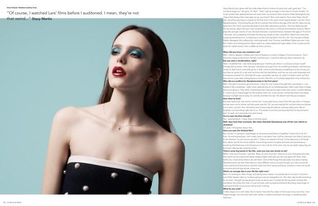 i-D Magazine Stacy Martin Katja Rahwles Georgina Graham Cathy Kasterine