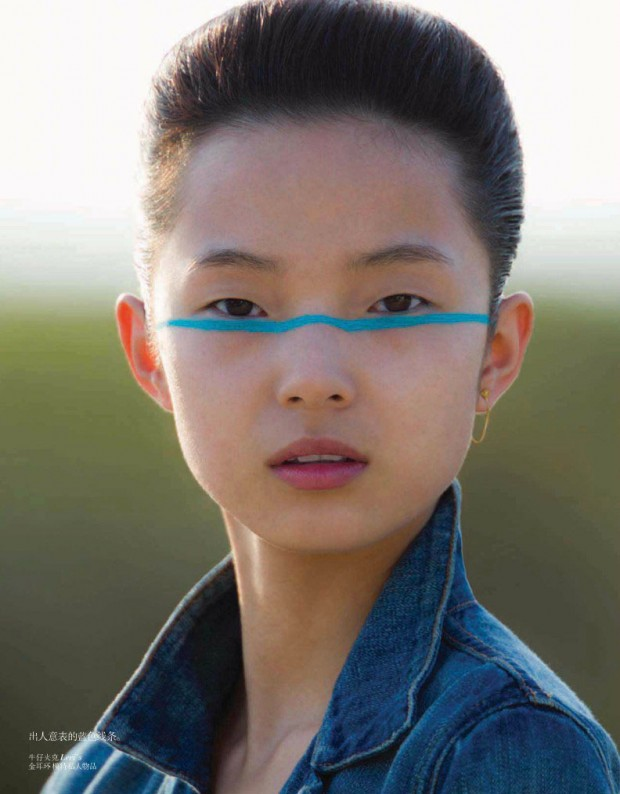 Vogue China, Hans Feurer, Heathermary Jackson, Georgina Graham, Ward, Xiao Wen