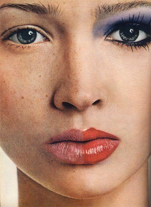 half makeup