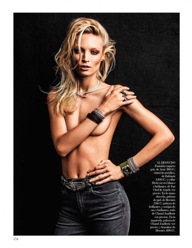 Vogue Spain Victor Demarchelier Georgina Graham