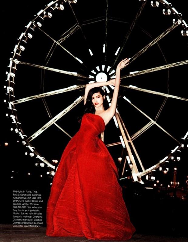 Harpers Bazaar US Katja Rahwles Jodie Barnes Georgina Graham