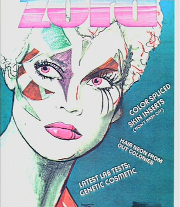 Zord Blade Runner Magazine