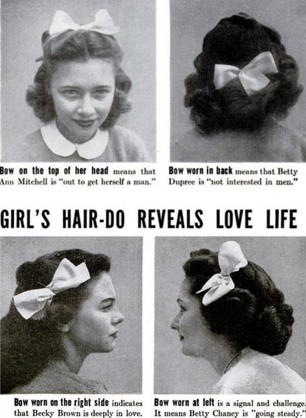 Hair Do Dating Cues 1944