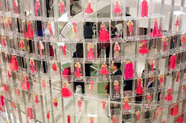 Barbie world's biggest store opens in Shanghai, China