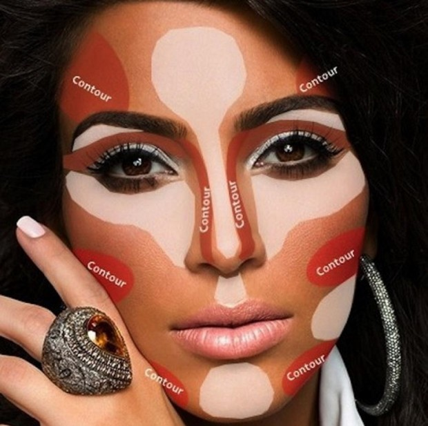 Kardashian Contour