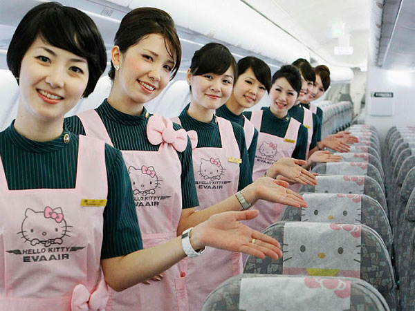 Hello Kitty Airlines 3